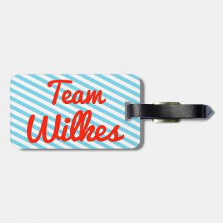 Equipo Wilkes Etiquetas Para Equipaje