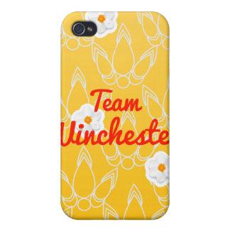 Equipo Winchester iPhone 4/4S Funda