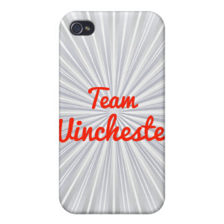 Equipo Winchester iPhone 4 Protector