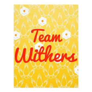Equipo Withers Tarjetas Publicitarias