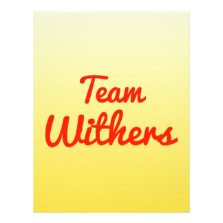 Equipo Withers Tarjeton