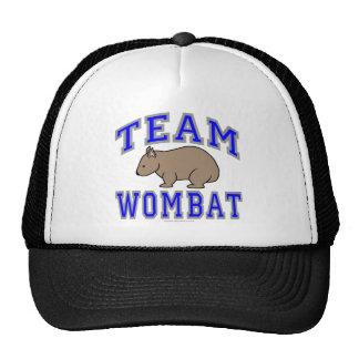 Equipo Wombat II Gorros Bordados