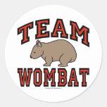 Equipo Wombat III Etiquetas