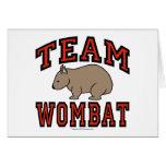 Equipo Wombat III Tarjetón