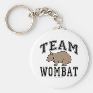 Equipo Wombat V Llavero Personalizado