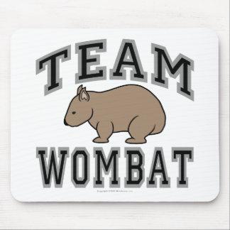 Equipo Wombat V Tapetes De Ratón