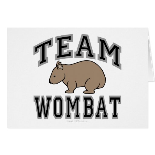 Equipo Wombat V Tarjetón