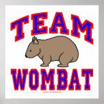 Equipo Wombat VI Posters