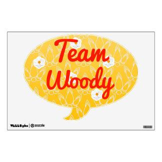 Equipo Woody Vinilo Adhesivo