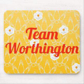 Equipo Worthington Mousepads