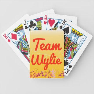 Equipo Wylie Baraja Cartas De Poker