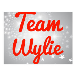 Equipo Wylie Postales