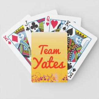 Equipo Yates Cartas De Juego