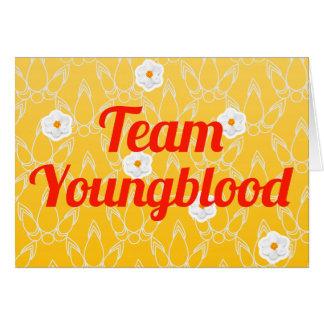 Equipo Youngblood Tarjeta De Felicitación