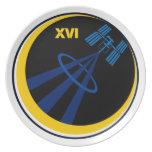 Equipos al ISS:  Expedición 16 Plato De Cena