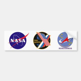 Equipos de la expedición al ISS:  Expedición 10 Pegatina Para Auto