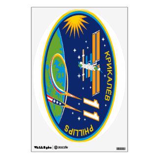 Equipos de la expedición al ISS:  Expedición 11 Vinilo Decorativo