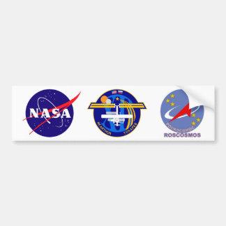 Equipos de la expedición al ISS:  Expedición 12 Pegatina Para Auto