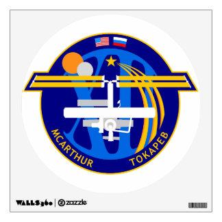 Equipos de la expedición al ISS:  Expedición 12 Vinilo Adhesivo