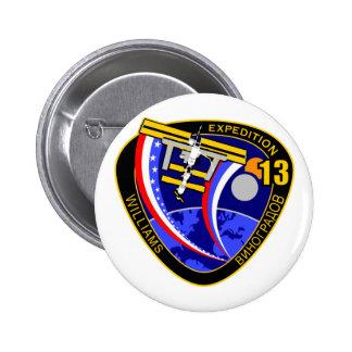 Equipos de la expedición al ISS Expedición 13 Pin