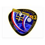 Equipos de la expedición al ISS:  Expedición 13 Postales