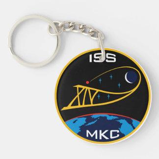 Equipos de la expedición al ISS:  Expedición 14 Llavero Redondo Acrílico A Doble Cara