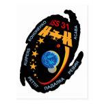 Equipos de la expedición al ISS:  Expedición 31 Tarjeta Postal