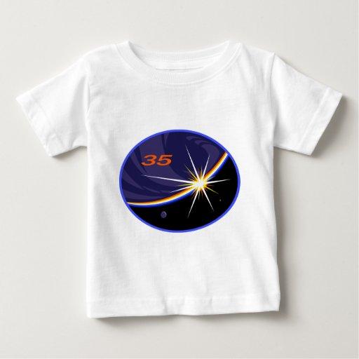 Equipos de la expedición al ISS:   Expedición 35 T-shirts