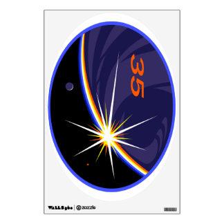 Equipos de la expedición al ISS:   Expedición 35 Vinilo Decorativo