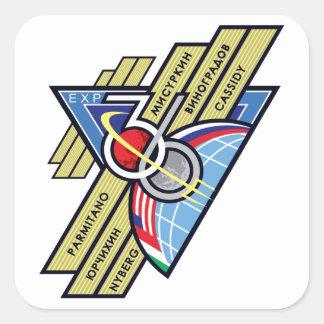 Equipos de la expedición al ISS:   Expedición 36 Colcomania Cuadrada