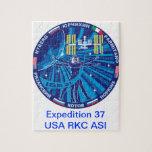 Equipos de la expedición al ISS:   Expedición 37 Rompecabezas Con Fotos