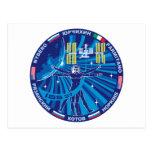 Equipos de la expedición al ISS:   Expedición 37 Postal