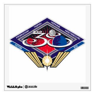 Equipos de la expedición al ISS:  Expedición 38 Vinilo