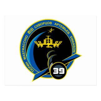 Equipos de la expedición al ISS:   Expedición 39 Postal