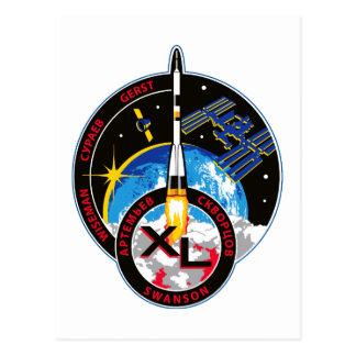 Equipos de la expedición al ISS:   Expedición 40 Postal