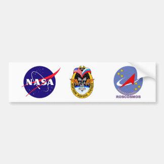Equipos de la expedición al ISS:  Expedición 5 Pegatina Para Auto