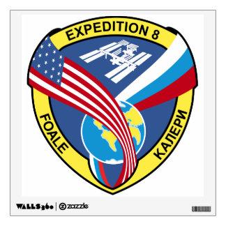 Equipos de la expedición al ISS:  Expedición 8 Vinilo Decorativo