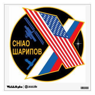 Equipos de la expedición al ISS:  Expedición 9 Vinilo Adhesivo