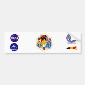 Equipos del ISS:  Expedición 21 Pegatina Para Auto