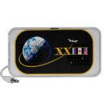 Equipos del ISS:  Expedición 23 iPod Altavoz