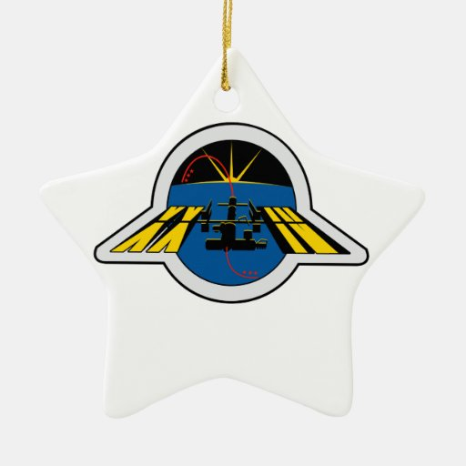 Equipos del ISS:  Expedición 24 Adorno De Cerámica En Forma De Estrella