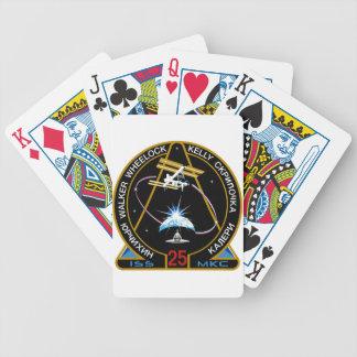 Equipos del ISS Expedición 25 Cartas De Juego