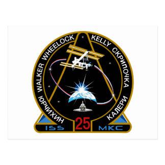 Equipos del ISS:  Expedición 25 Postal