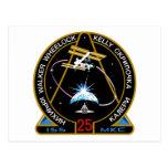 Equipos del ISS:  Expedición 25 Tarjeta Postal