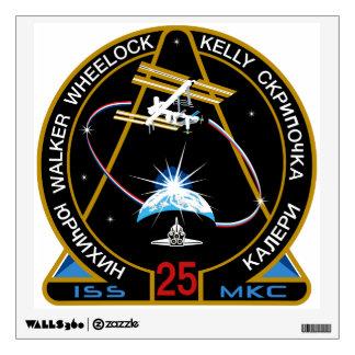 Equipos del ISS:  Expedición 25 Vinilo Decorativo