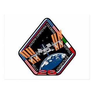 Equipos del ISS:  Expedición 26 Postal