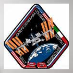 Equipos del ISS:  Expedición 26 Posters