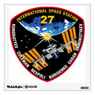 Equipos del ISS:  Expedición 27 Vinilo Decorativo