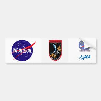 Equipos del ISS:  Expedición 28 Pegatina Para Auto