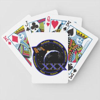 Equipos del ISS Expedición 30 Baraja Cartas De Poker